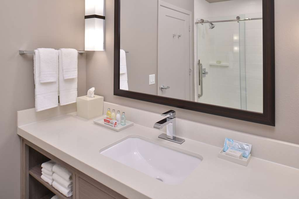 Best Western Premier Energy Corridor - Bathroom Vanity with Walk-in Shower