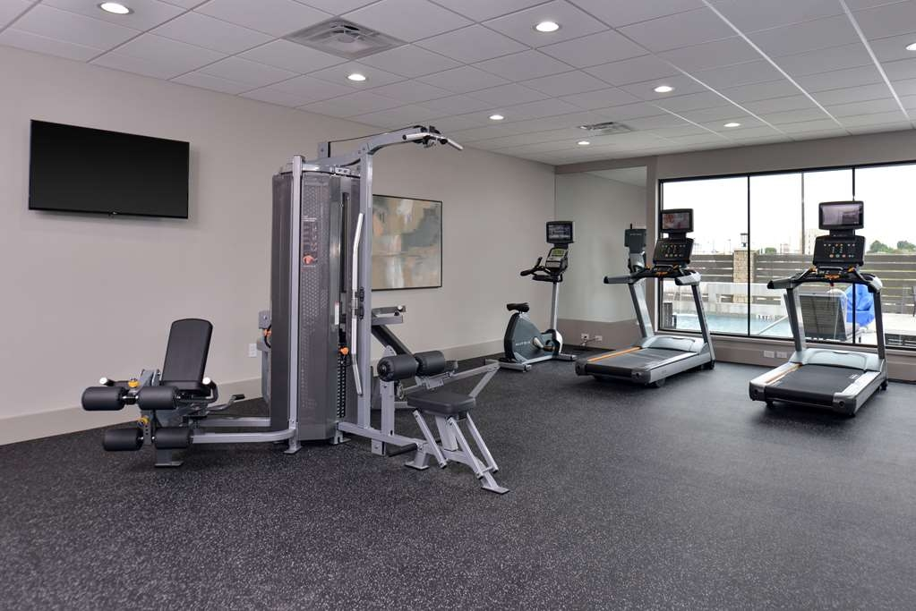 Best Western Premier Energy Corridor - State-of-the-art fitness equipment including Treadmills, Stationary Bikes and free weights