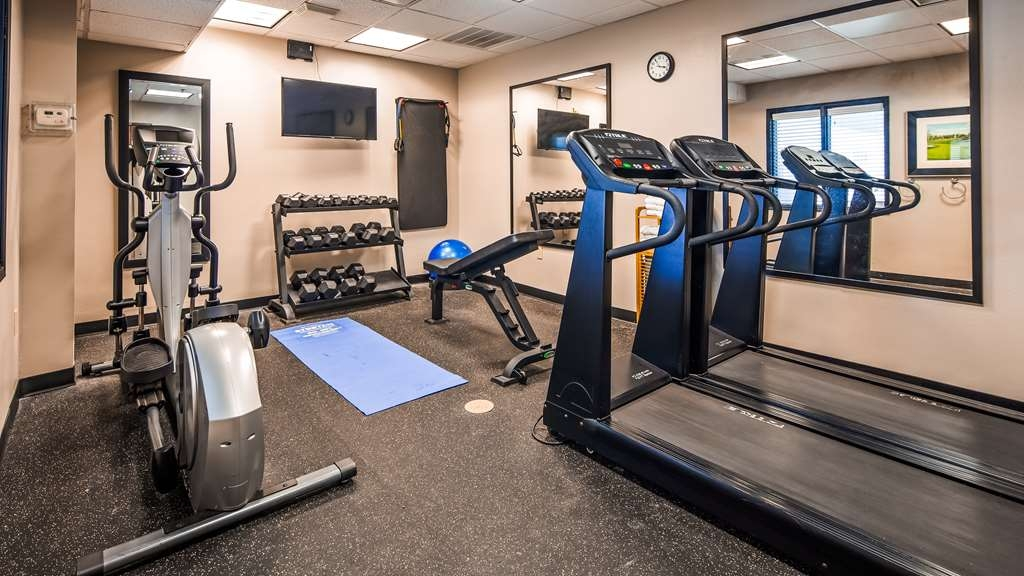 Best Western Red River Inn - Fitnessstudio