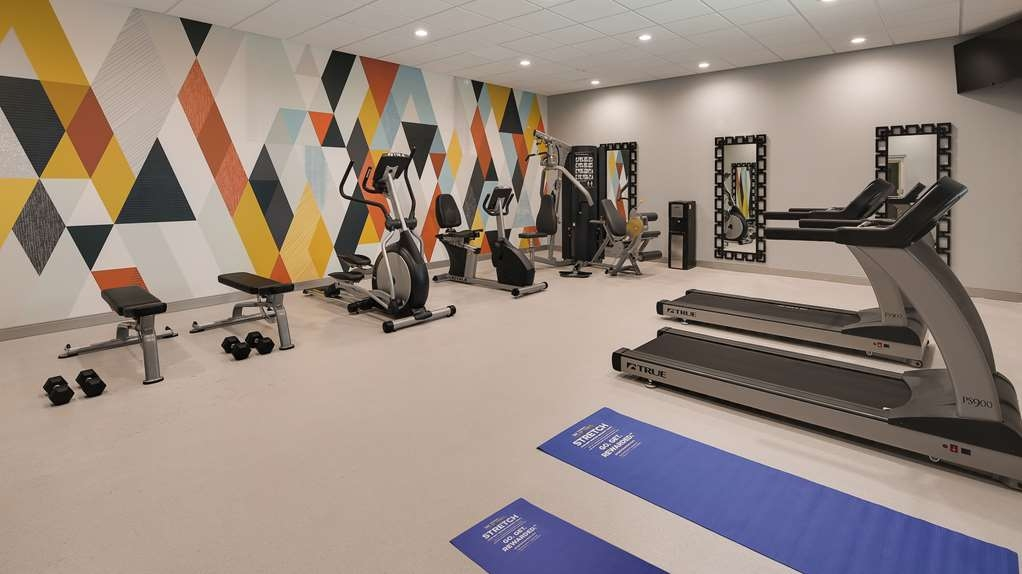 Best Western Plus Executive Residency Baytown - Fitnessstudio
