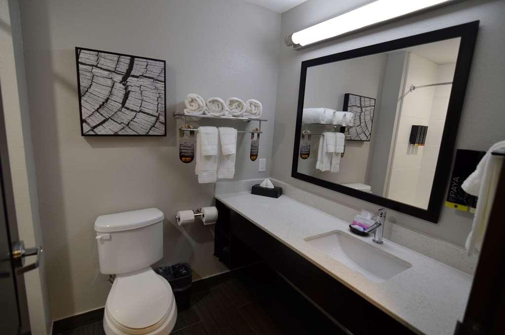 Best Western Plus Bay City Inn & Suites - Single King Guest Suite Bathroom