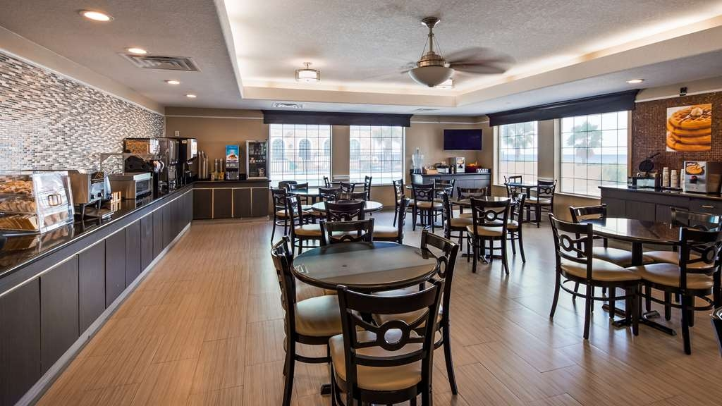 Best Western Galveston West Beach Hotel - Restaurant / Gastronomie