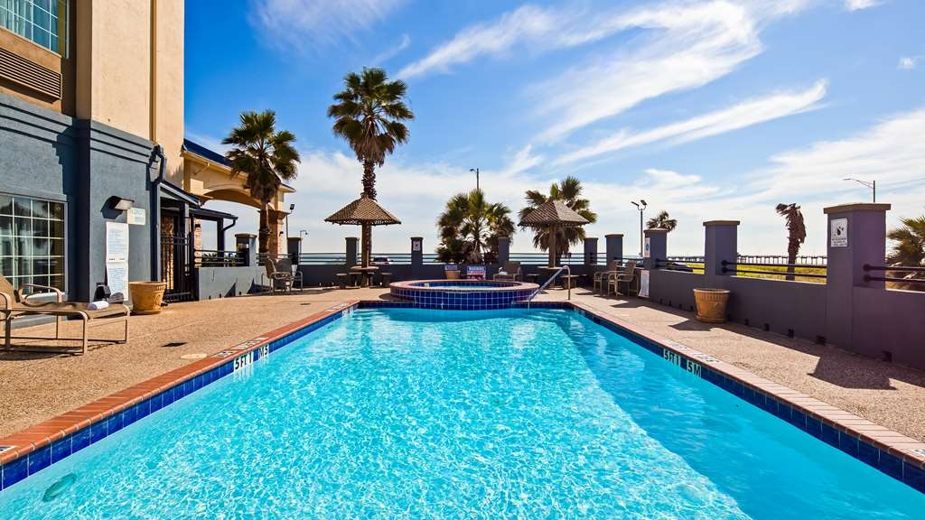 Best Western Galveston West Beach Hotel - Poolansicht