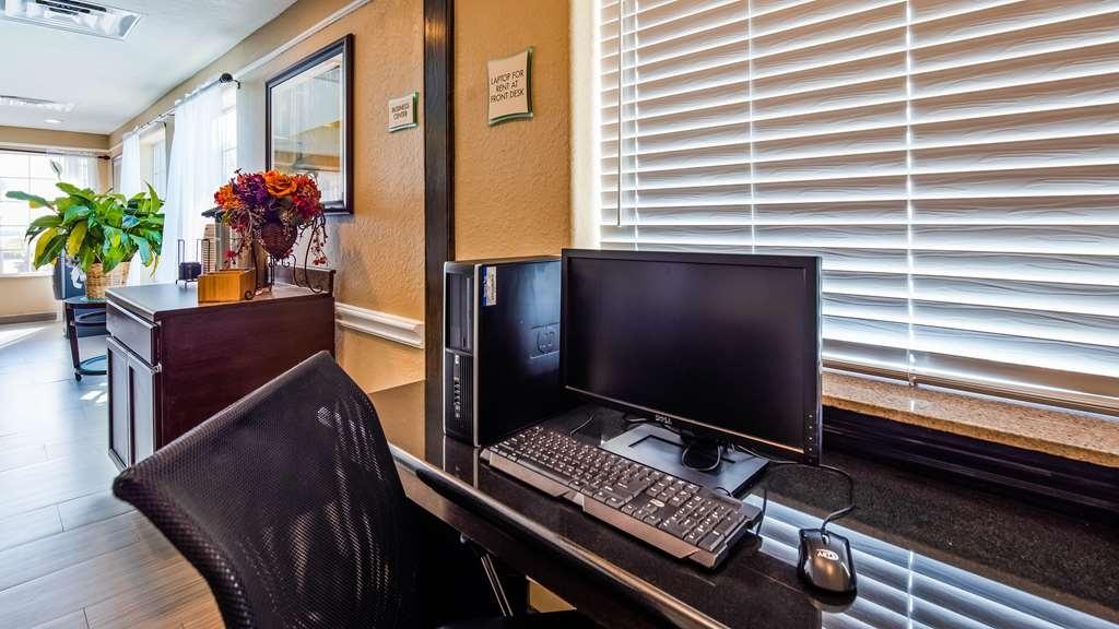 Best Western Galveston West Beach Hotel - centro de negocios-característica