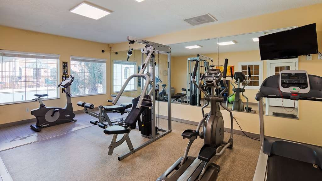 Best Western Galveston West Beach Hotel - Fitnessstudio