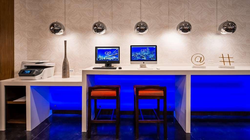 GLo Best Western DeSoto Dallas - centro de negocios-característica