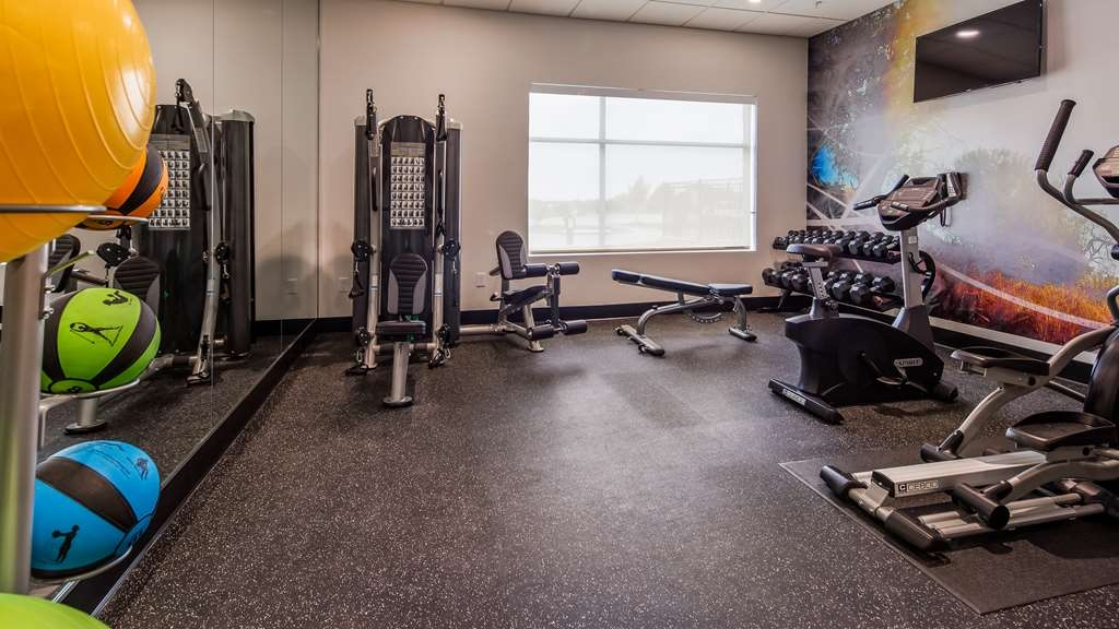 Best Western Plus Executive Residency Austin - We offer a variety of fitness equipment including exercise balls, treadmill, recumbent bike and 3 in 1 station.