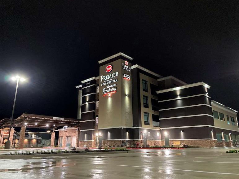 Best Western Premier Executive Residency Grand Texas Hotel - Vista exterior