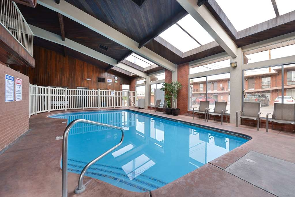 Best Western Coral Hills - Is it too cold for our outdoor pool, do not worry, we have an indoor, heated pool available all year round
