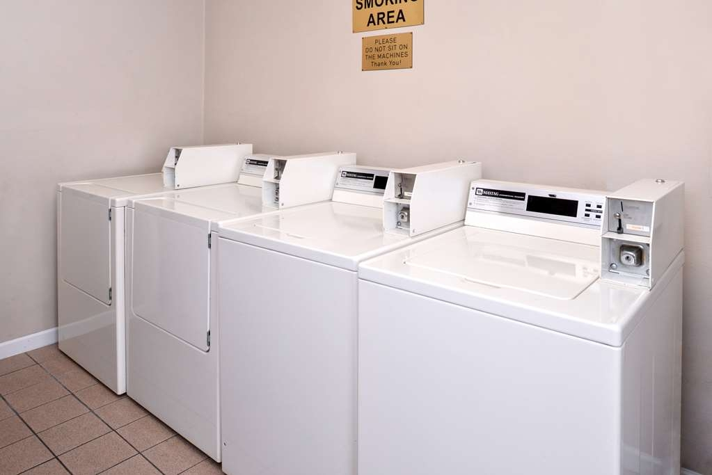 Best Western Coral Hills - Laundry Room available from 8:00 a.m. to 10:00 p.m.