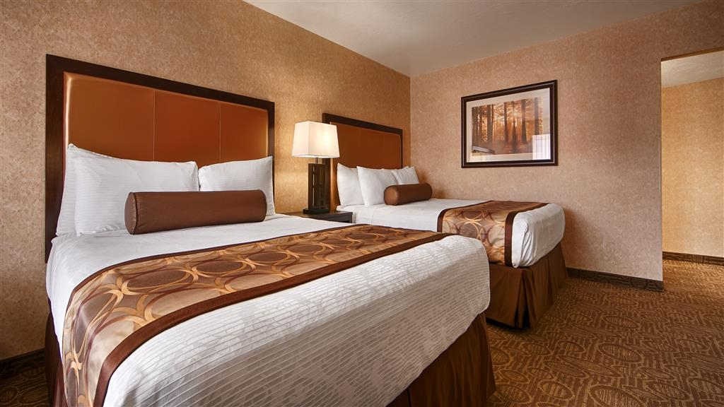 Best Western Coral Hills - There are three main room designs located in different section of our buildings.