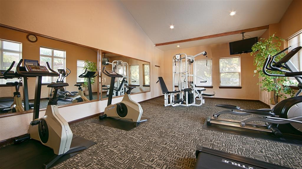 Best Western Plus Greenwell Inn - Fitnessstudio
