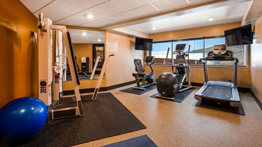Best Western Plus Landmark Inn - Fitnessstudio
