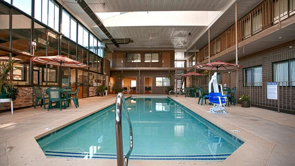 Best Western Inn Tooele - Enjoy swimming in our indoor heated pool any time of the year.