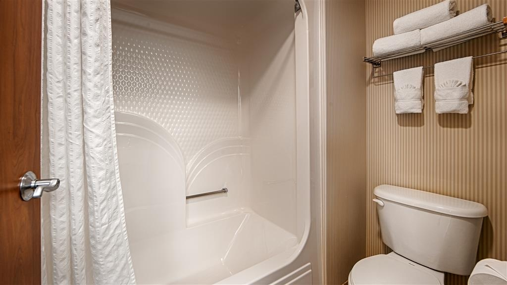 Best Western Holiday Hills - Our bathrooms come stocked with the amenities you need.
