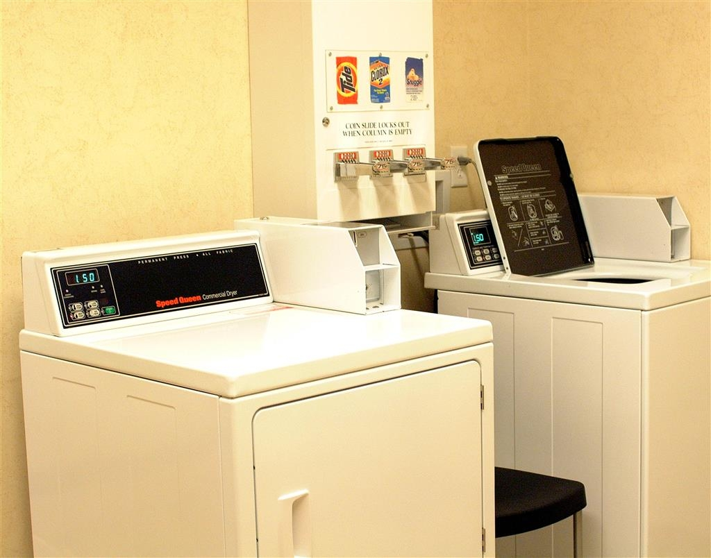 Best Western Holiday Hills - We provide 24-hour coin-operated laundry facilities for our guests convenience.