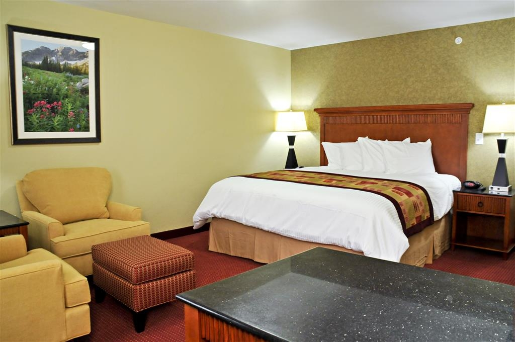 Best Western Plus Layton Park Hotel - Get some work done from the convenience of your room! A work desk can be found in each room.