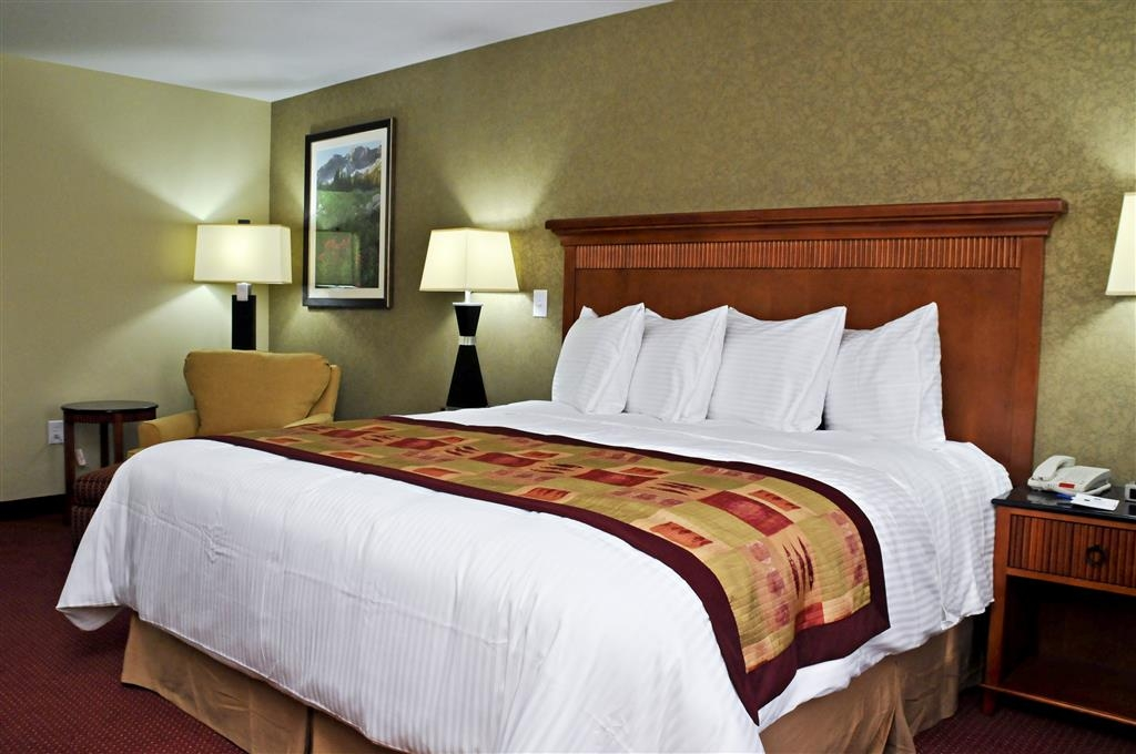 Best Western Plus Layton Park Hotel - A comfortable lounge chair is included in each king room.