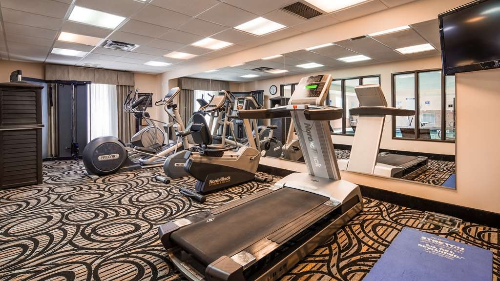 Best Western Plus Airport Inn & Suites - Fitnessstudio