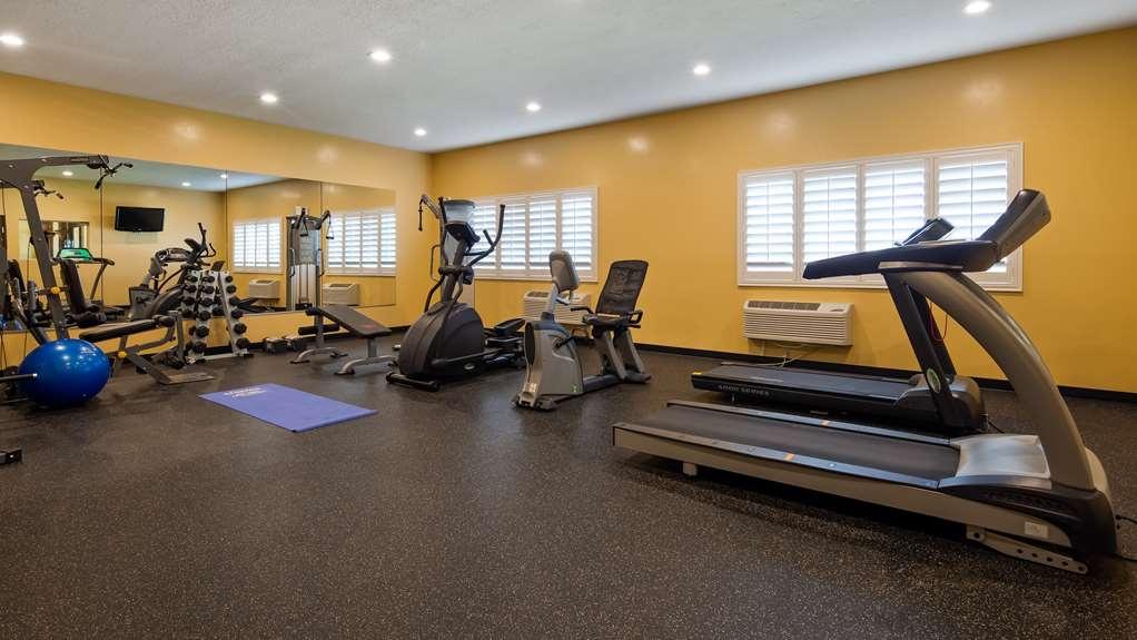 Best Western Plus Landmark Hotel - Fitnessstudio