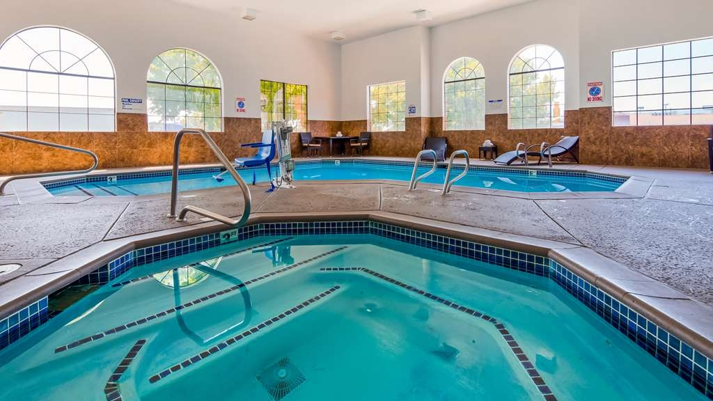 Best Western Plus Wendover Inn - Enjoy some family fun in our indoor pool.
