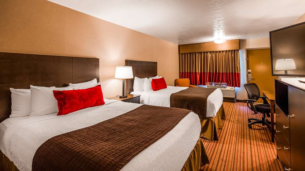 Best Western Plus Cedar City - Our standard Double Queen Guest Room offers the comforts of home with a few added amenities that will make your stay extra special.