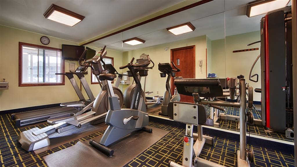 Best Western Bennington - Our exercise facility is open from 6 a.m. to 10 p.m.