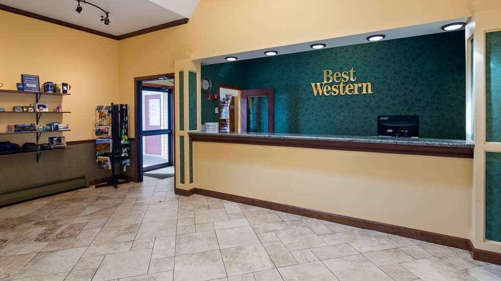 Best Western Bennington - Vista del vestíbulo