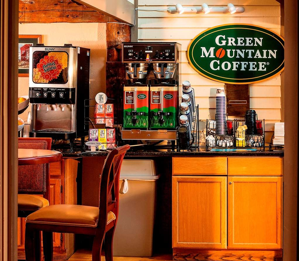 Best Western Inn & Suites Rutland-Killington - Green Mountain Coffee® available 24-hours. Stay at this Vermont hotel!