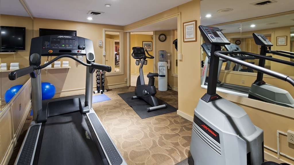 Best Western Inn & Suites Rutland-Killington - Keep up with your fitness routine! Our fitness center is open 24 hours to our guests.