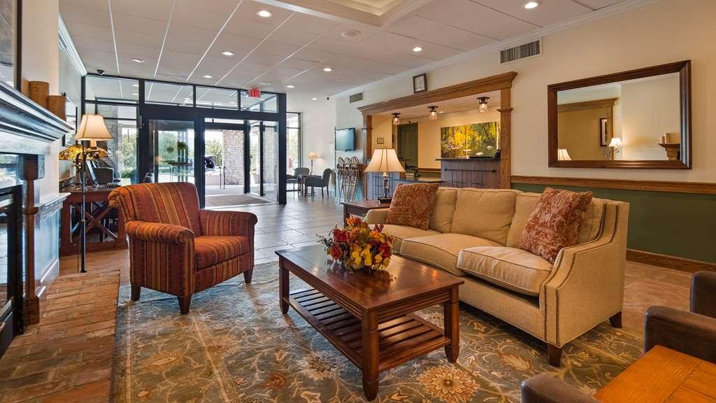 Best Western Plus Waterbury - Stowe - Vue du lobby
