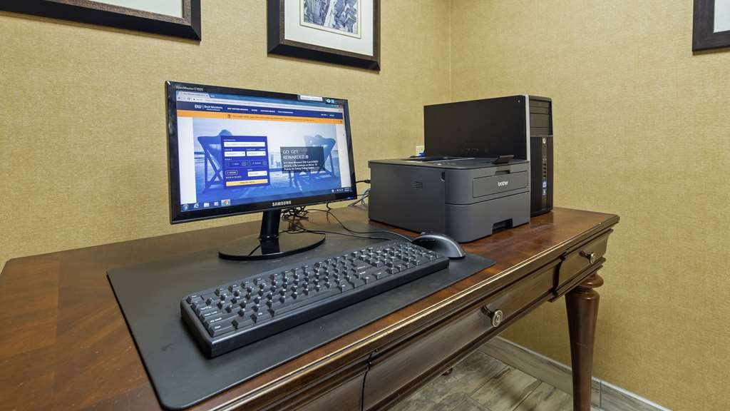 Best Western Leesburg Hotel & Conference Center - We offer complimentary upgraded WiFi throughout the hotel, and our business center features a free printer for you to use.