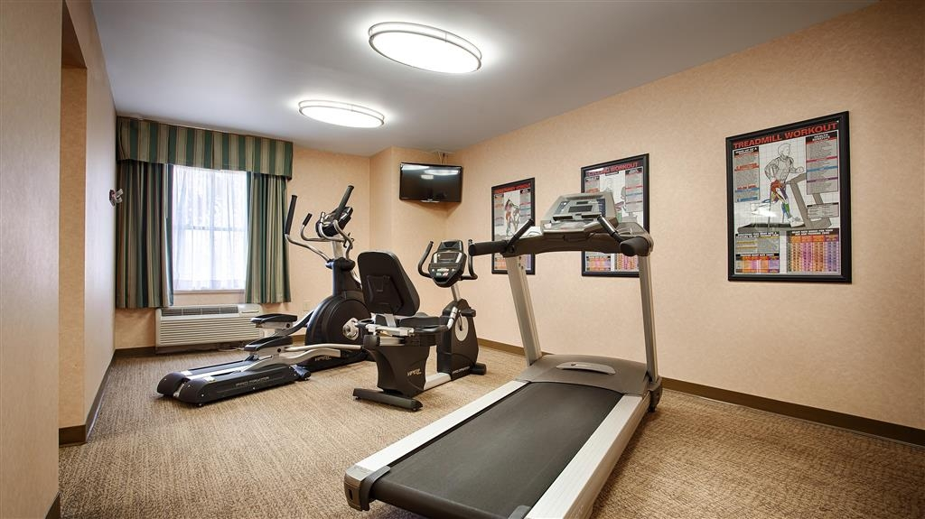 Best Western Plus Inn at Valley View - Run away the stress of the day with a workout in our new fitness center!