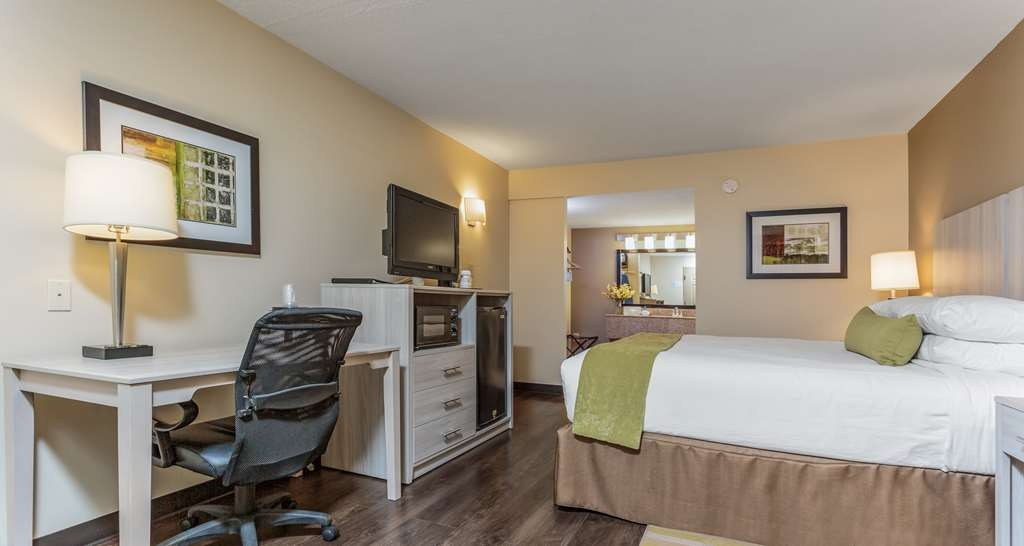 Best Western Battlefield Inn - This spacious newly updated, king guest room offers a flat screen TV, free high-speed Internet, microwave and refrigerator.
