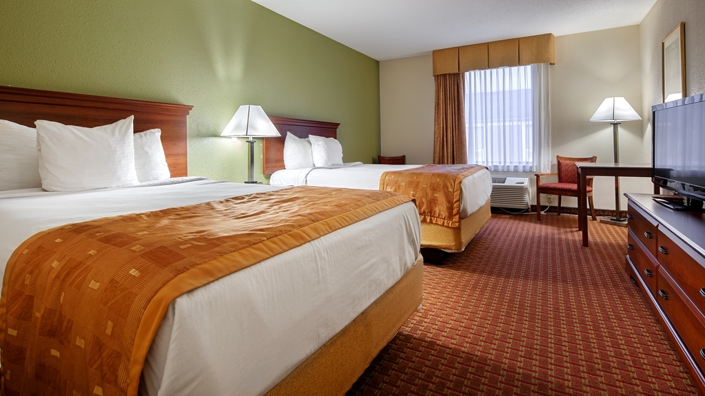 Best Western Wytheville Inn - Double Queen Guest Room