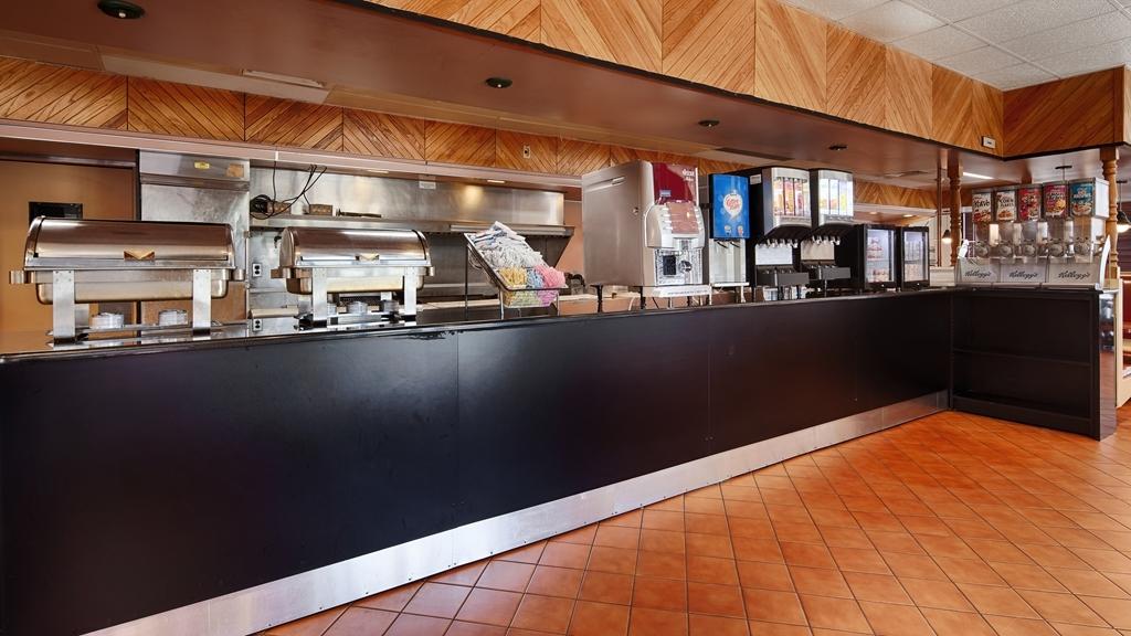 Best Western Springfield - Le petit déjeuner buffet