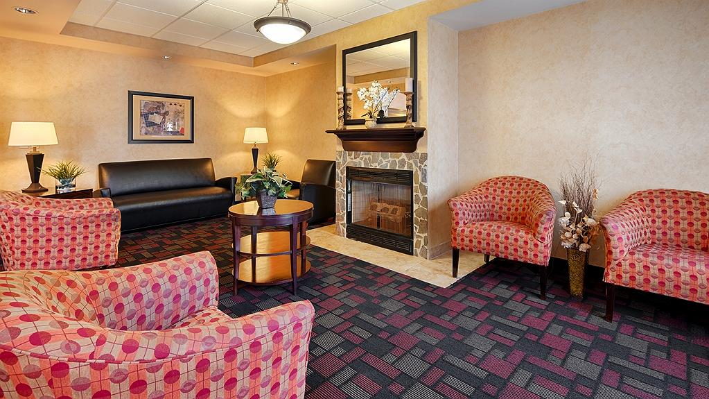 Best Western Windsor Inn & Suites - Vue du lobby
