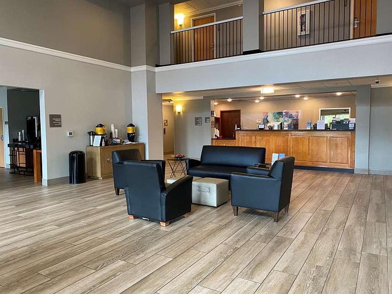 Best Western Windsor Inn & Suites - Vue du lobby