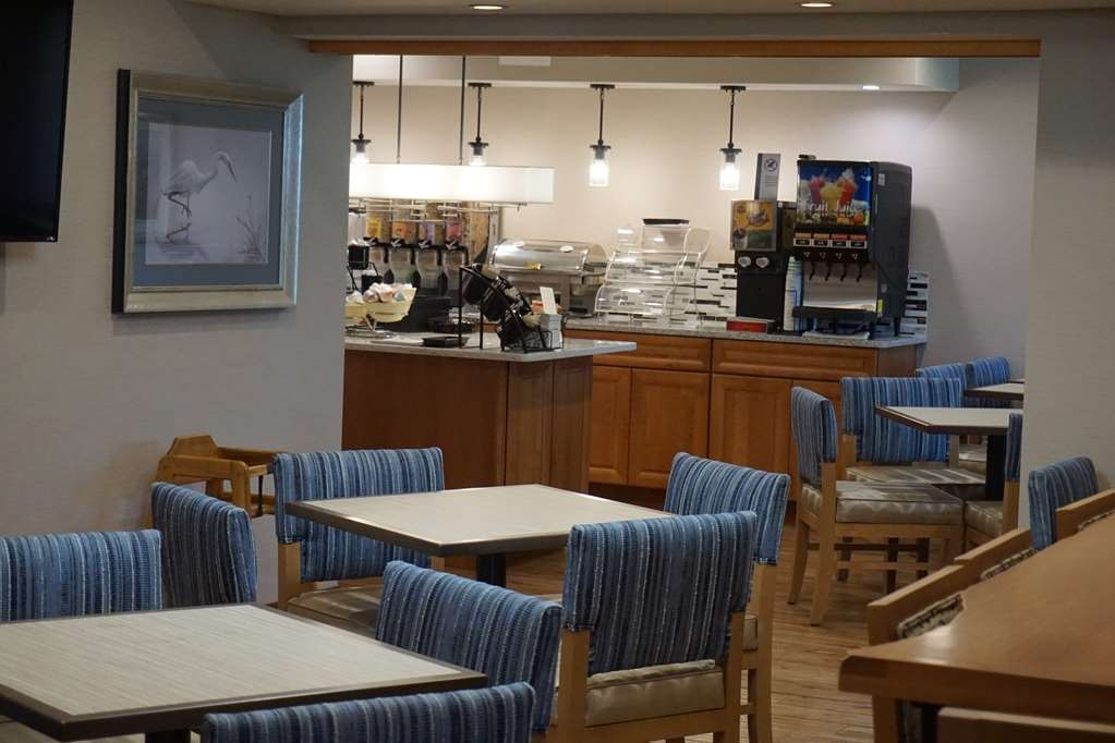 Best Western Chincoteague Island - Recented renovated and expanded Breakfast Dining Area with additional seating and space.