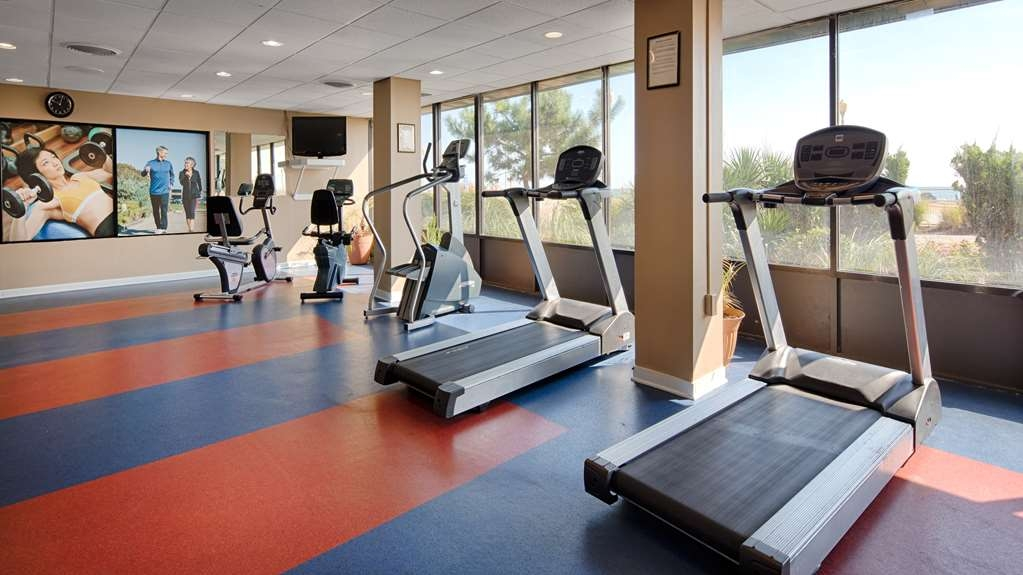 Best Western Plus Virginia Beach - Get a great work out in while enjoying the ocean views. Fitness room includes treadmills, elliptical trainers, stationary bikes & weight machines.