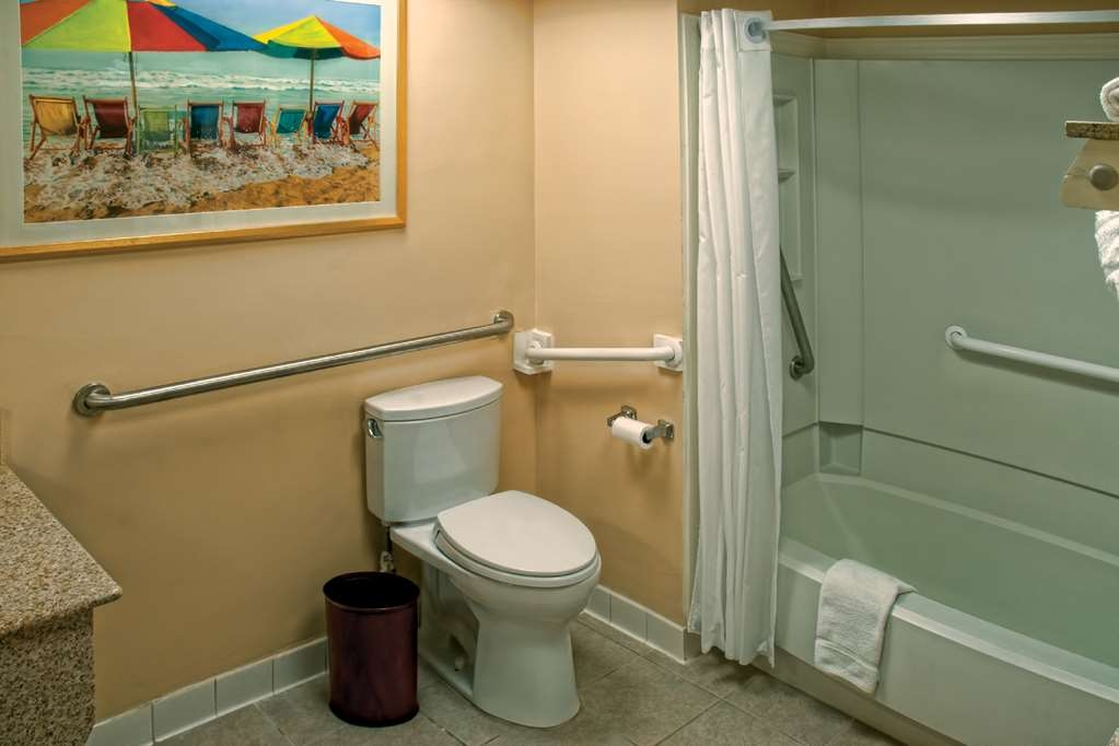 Best Western Plus Virginia Beach - ADA Mobility Accessible Bathroom