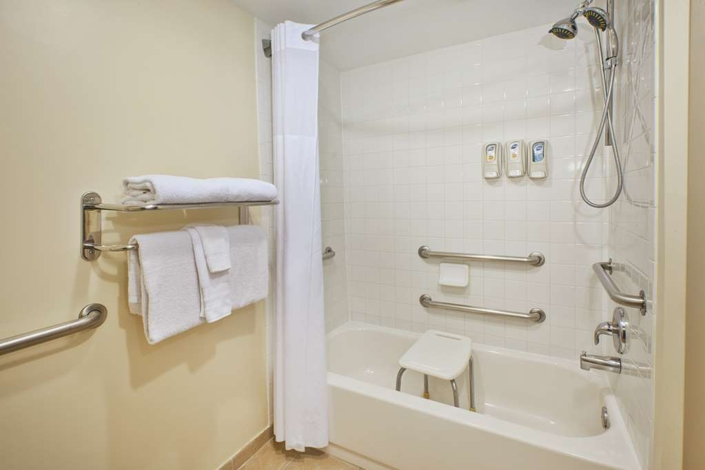 Best Western Dulles Airport Inn - ADA guest rooms are designed to be both spacious and accommodating in all areas.