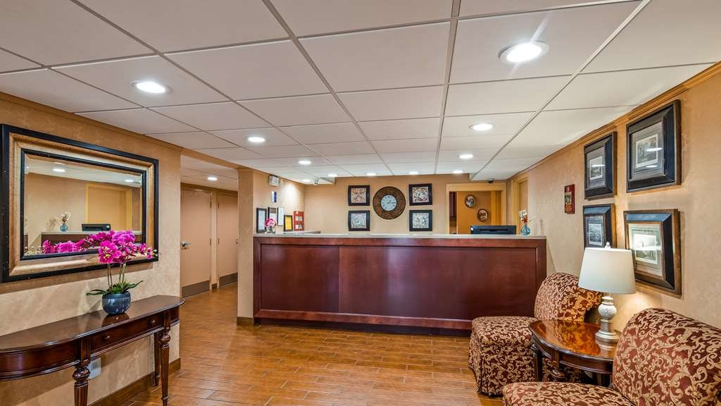 Best Western Aquia/Quantico Inn - Vue du lobby