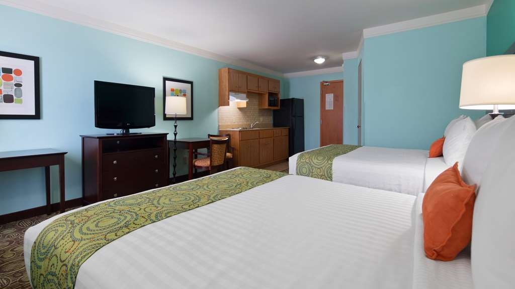 Best Western Plus Glen Allen Inn - Guest room featuring mini-fridge, microwave, flat screen tv, and complimentary hot breakfast daily