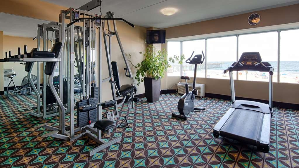 Best Western Plus Sandcastle Beachfront Hotel - Club de remise en forme