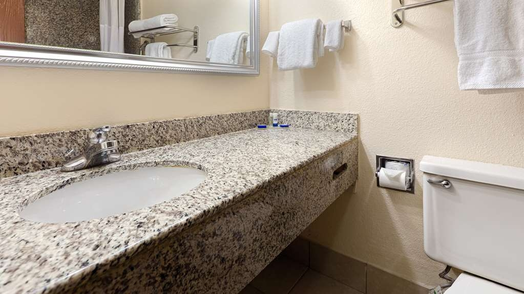 Best Western Hampton Coliseum Inn - Guest Bathroom