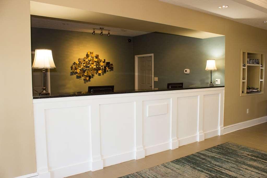Best Western Kilmarnock Hotel - Vista del vestíbulo