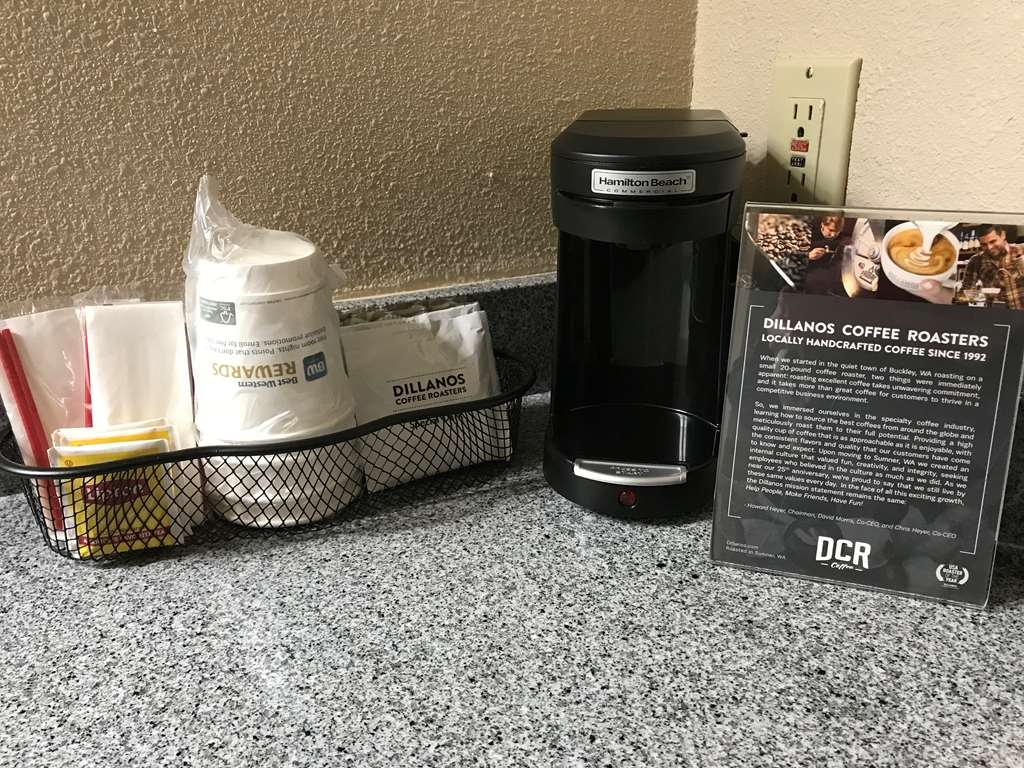 Best Western Lakewood - We proudly serve Dillanos coffee in our rooms