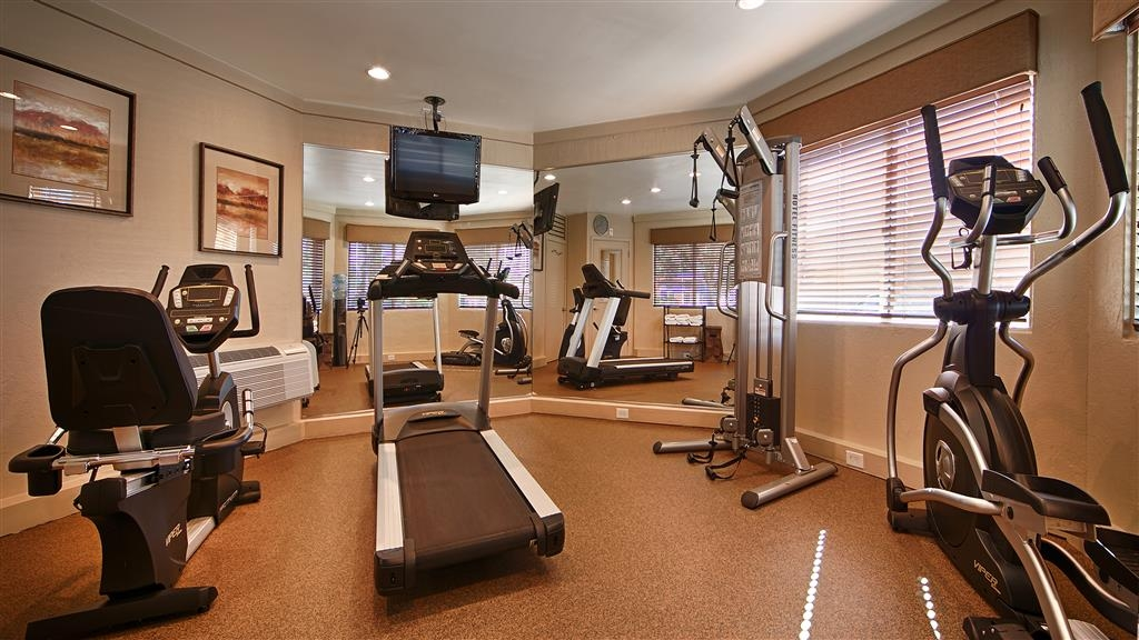 Best Western Aladdin Inn - You won't have to skip you're workout when staying with us!