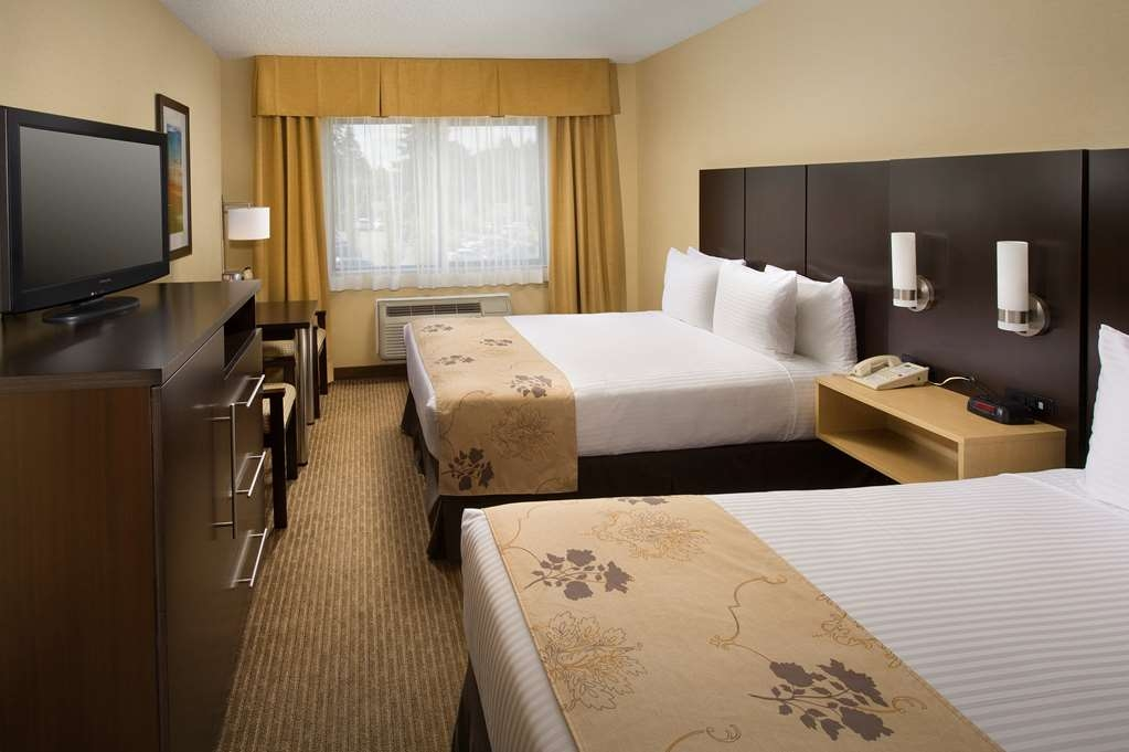 Best Western Seattle Airport Hotel - Todas nuestras habitaciones son exclusivamente para no fumadores.